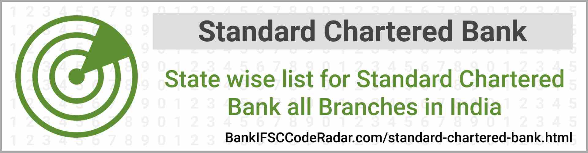 Standard Chartered Bank All Branches India